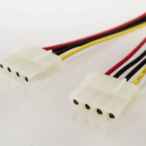 AT Power Y-Cable 4p Male to 2 x 4p Female