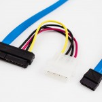Amphenol 29p SAS to SATA LP4 Power Cable