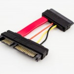 Amphenol Micro SATA to 22p SATA Power Cable