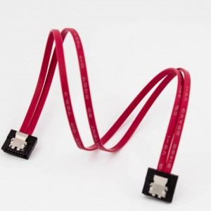 Mini-SATA Extra Slim Cable (Straight to Straight with Latch)