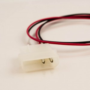 Fan Power Cable 3p Female to 4p Male