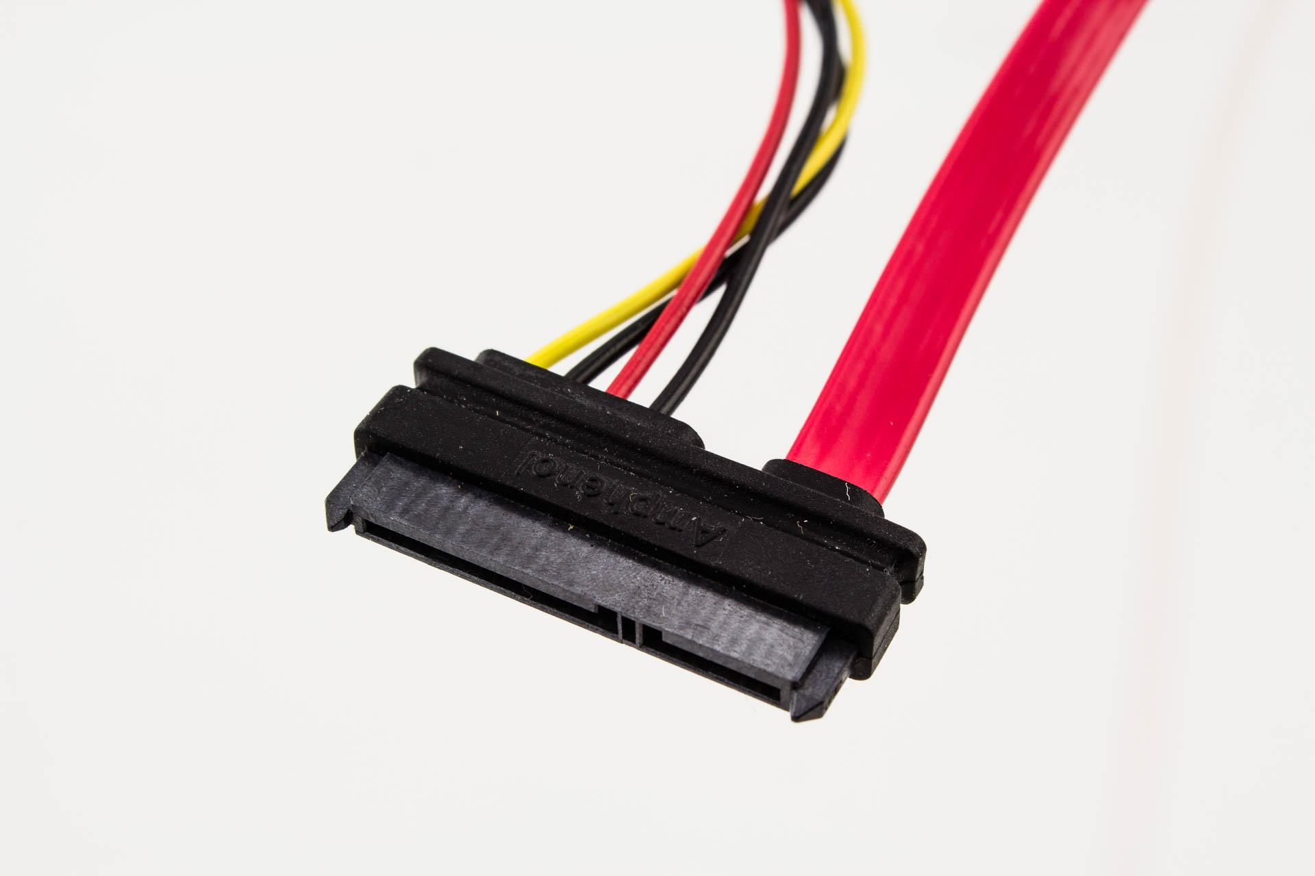 amphenol 7p sata to 22p sata   lp4 power cable