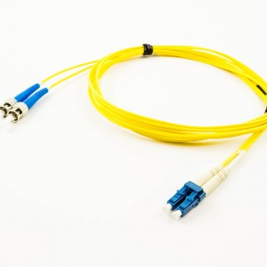 Qualite OS1 Single Mode 9/125 Patch Cable, Duplex