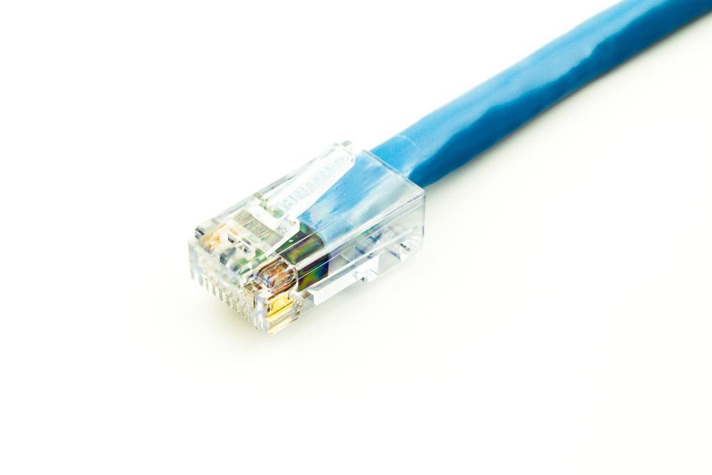 sentinel u00ae rj45 connectors cat6 cable - round utp