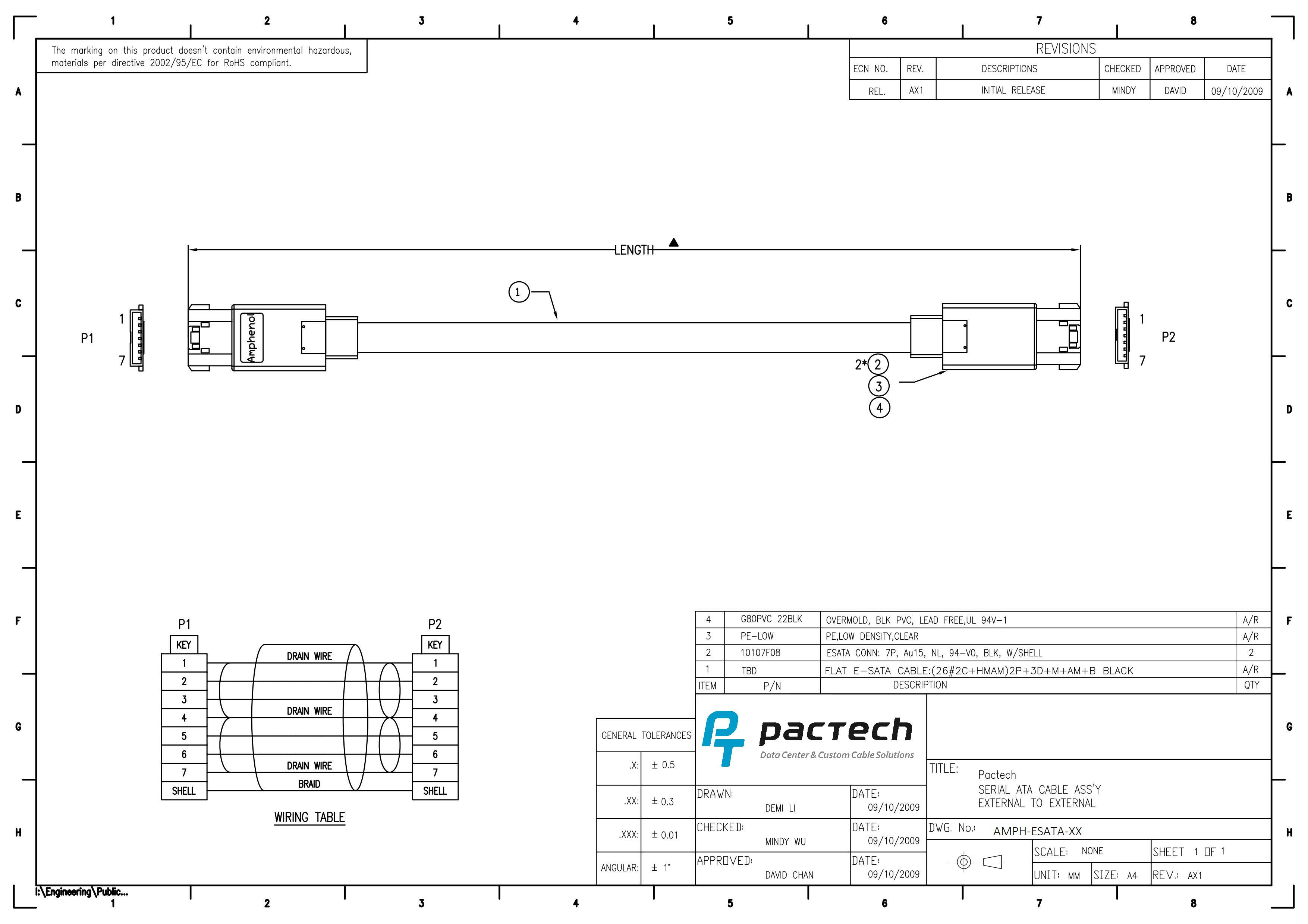 Sata Wiring Diagram from pactech-inc.com