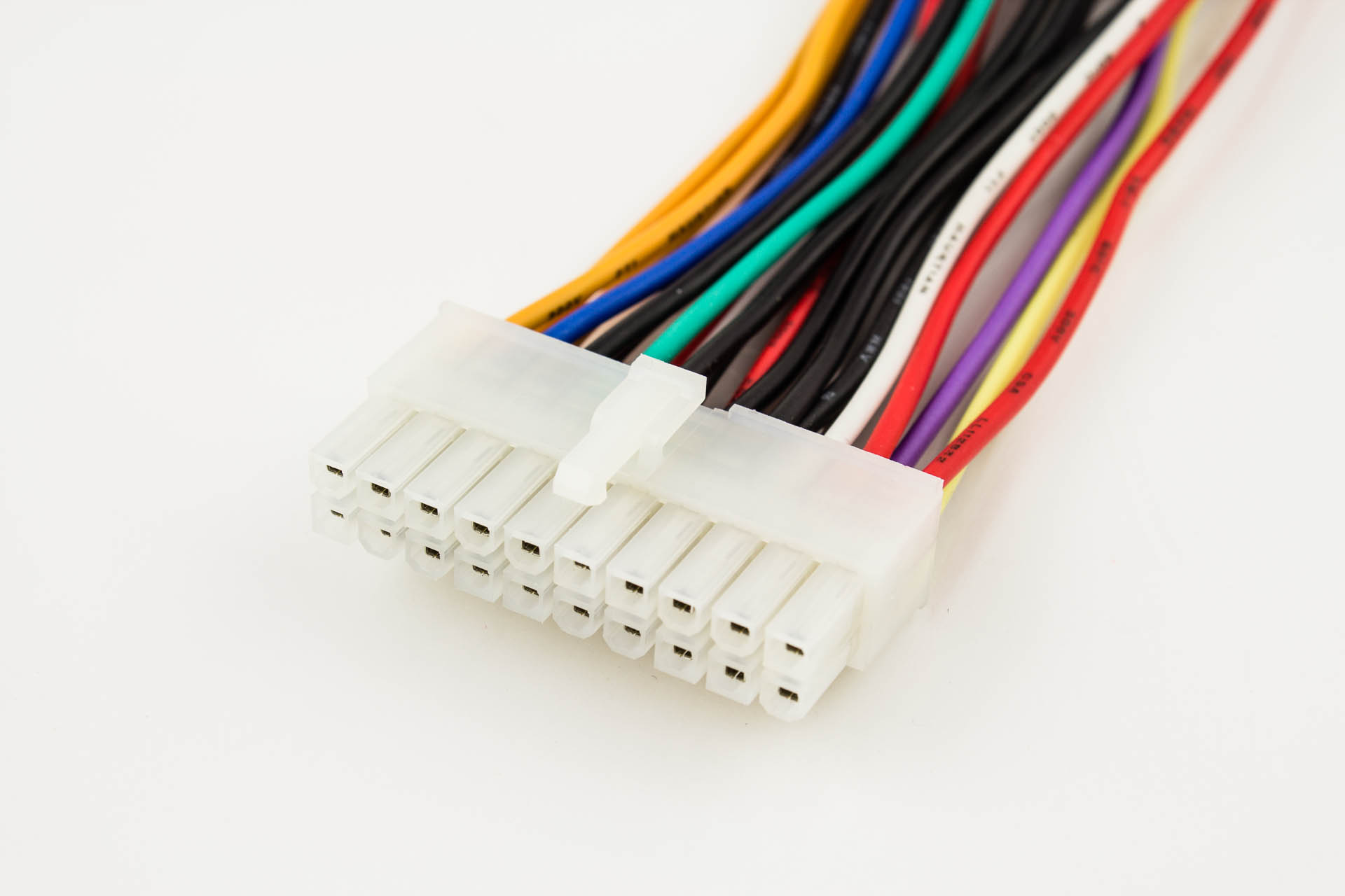 atx power cable 24p male to 20p female