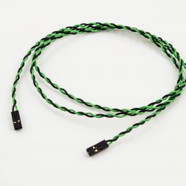 Jumper Wires 2p Female to 2p Female Green/Black (Power Switch)