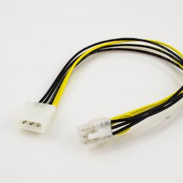 PCI-Express 6p Female to AT 4p Male Power Adapter Cable
