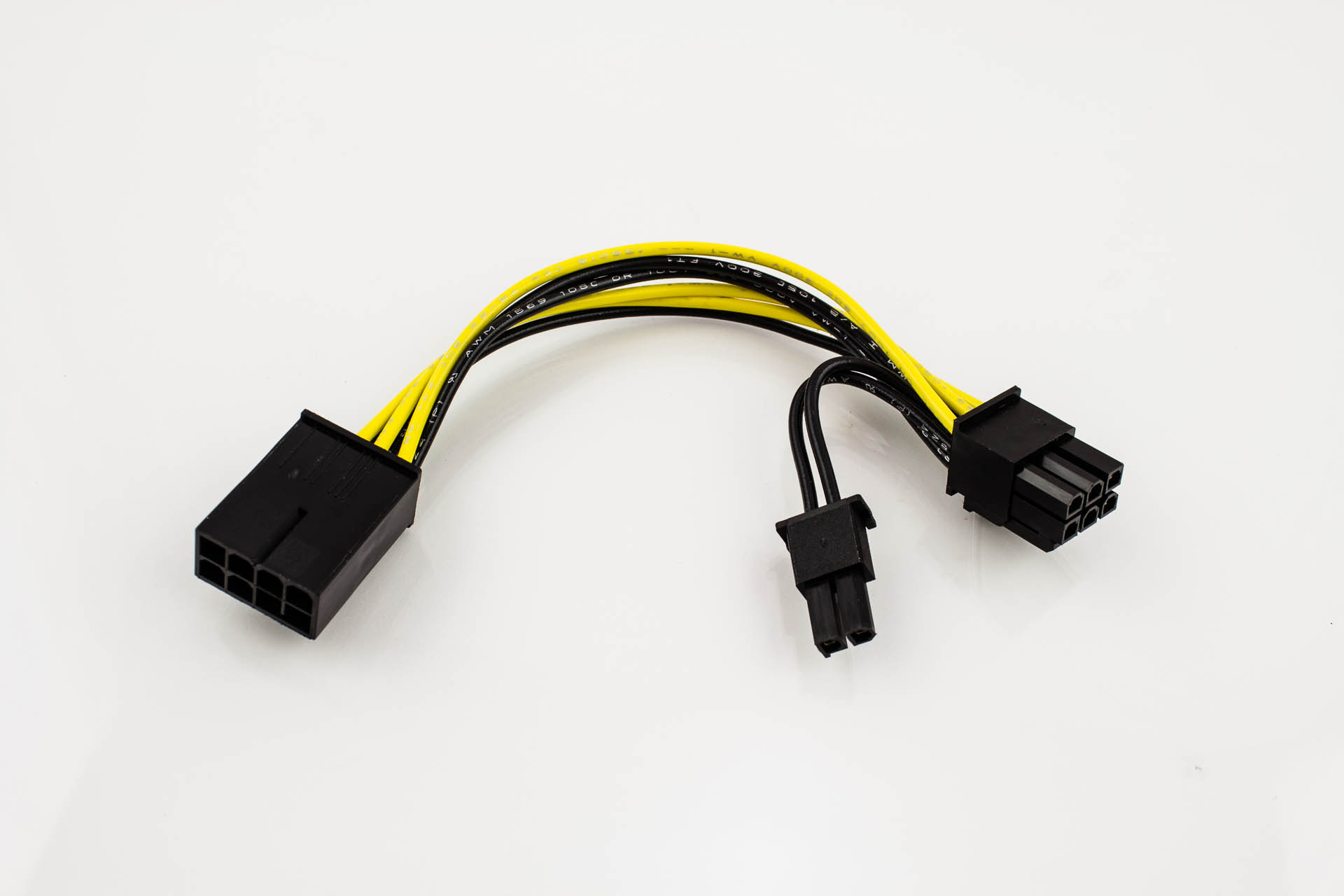pci express power adapter cable 8p to 6p 2p pactech