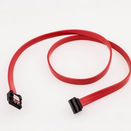 Amphenol SATA Cable (Straight with Latch to Right Angle)