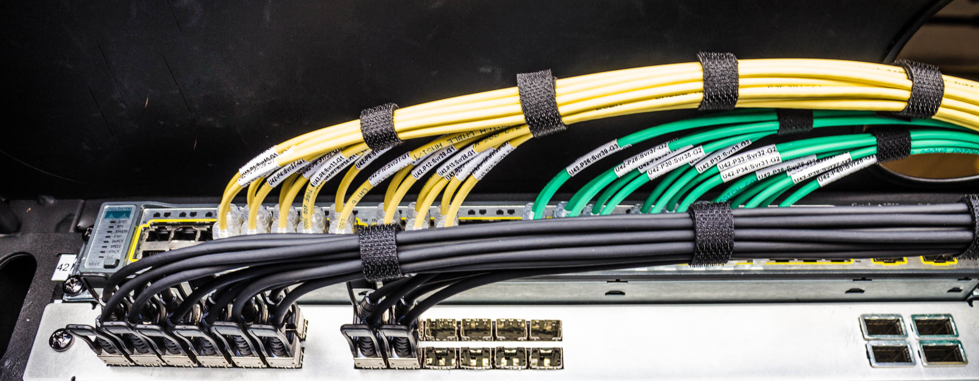 Beautiful Cable Management Pactech S Data Center Cables