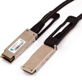 Direct Attach Copper (DAC) Cable – Rapide™ 40G QSFP+ Passive Twinax Cable Connectors
