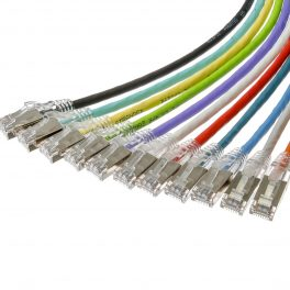 CAT6A 28AWG 10G Cable – FlexLite™ UFTP OD 5.0mm 500MHZ Connectors