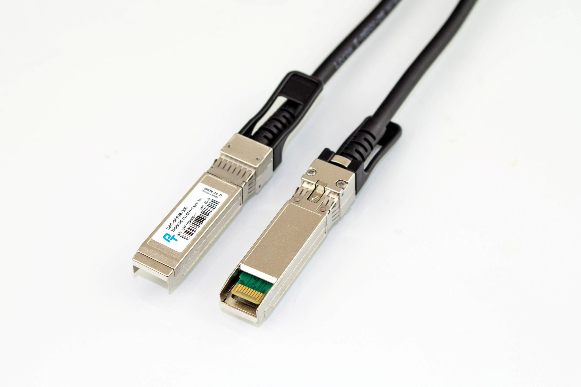 25g Sfp28 Passive Twinax Dac Cable Pactech Cables