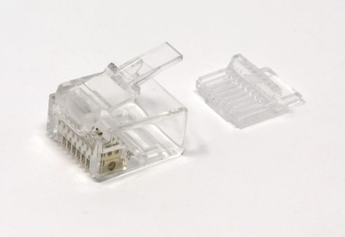 CAT6 UTP RJ45 Mini Plug for 28AWG Cable Isometric view