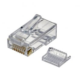 CAT6 UTP RJ45 Plug For 28AWG Cable