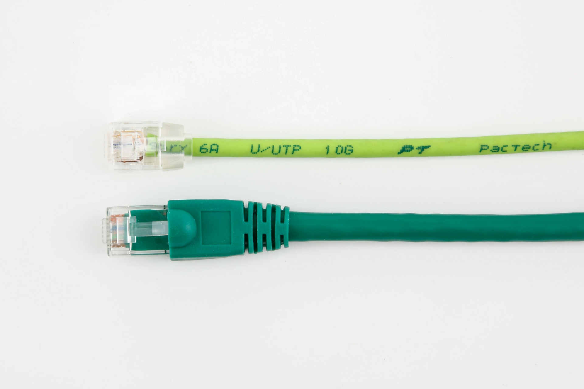 New Cat6 28awg Cable Flexmini6 6a Utp Pactech Cat5e Rj45 Ethernet Shielded 26 Awg Pvc Jacket Gray 150 Ft