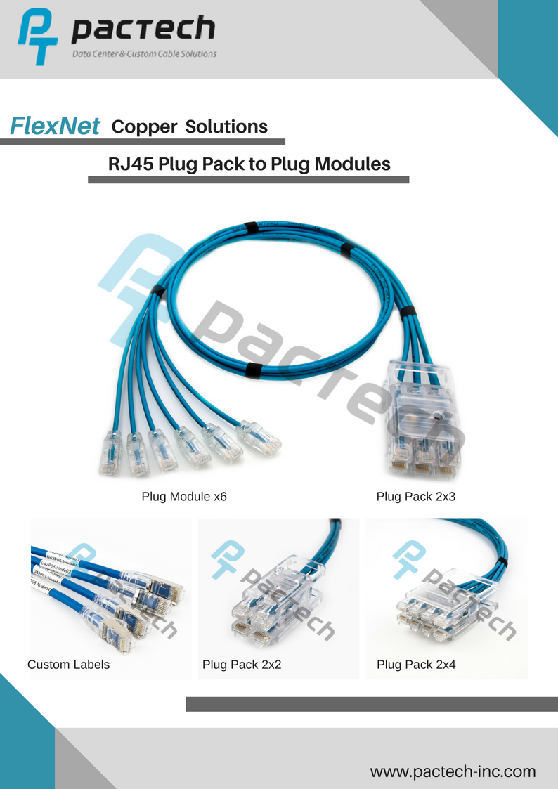 Product Flyers Pactech Modular Wiring Solutions Image