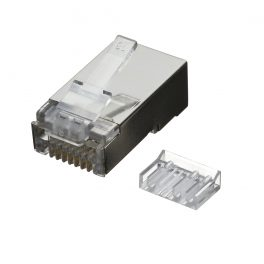CAT6A STP RJ45 Plug For 28AWG Cable