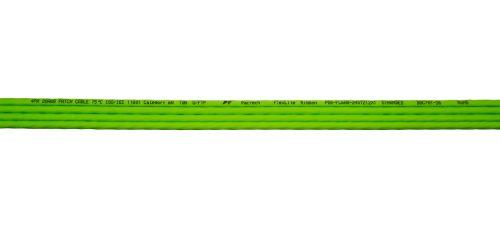 CAT6A 28AWG Ribbon x4 10G Cable – FlexLite™ UFTP OD 5.2mm 550MHZ Soft PVC Shrek Green Marking