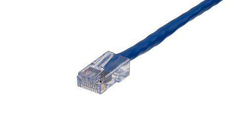 CAT5e Cable – Sentinel®Plug, Non-Snagless, Non Booted Blue