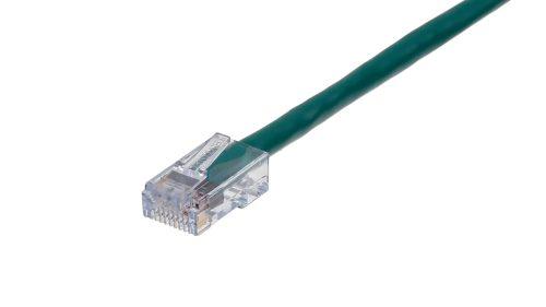 CAT5e Cable – Sentinel®Plug, Non-Snagless, Non Booted Green
