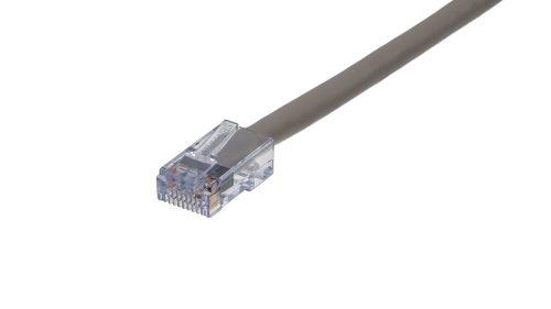 CAT5e Cable – Sentinel®Plug, Non-Snagless, Non Booted Grey