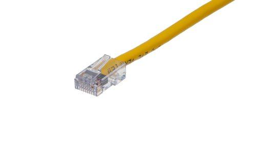 CAT5e Cable – Sentinel®Plug, Non-Snagless, Non Booted Yellow