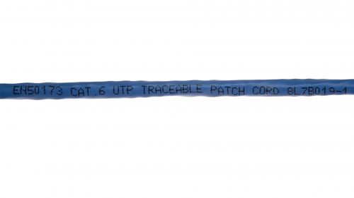 CAT6 LED Traceable Cable - Round UTP With Boot Marking