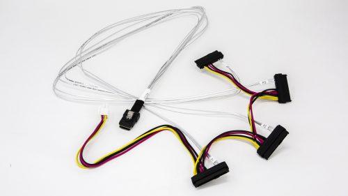 Amphenol Mini SAS 36P to SAS 29P x 4 with HSG Power Cable 2