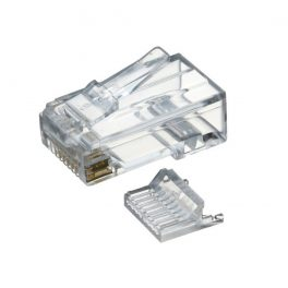 CAT6 UTP RJ45 Plug For 24AWG Cable