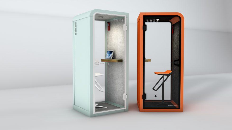 silence booth