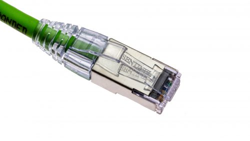 Sentinel® RJ45 Connectors with CAT6/CAT6A 28AWG Cable - FlexPremium