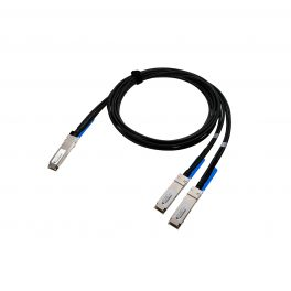 DAC 200G QSFP56 To 2xQFP56 Passive Twinax Cable